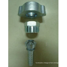 ground joint couplings-wing nut